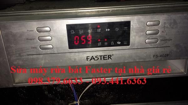 Sửa máy rửa bát Faster