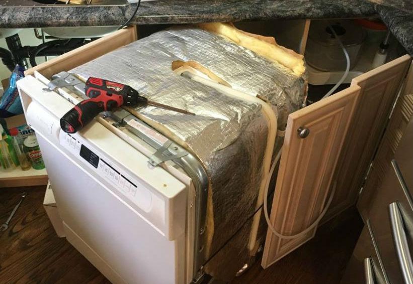 Sửa máy rửa bát Nardi